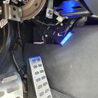 Montage Fußraumbeleuchtung vorne