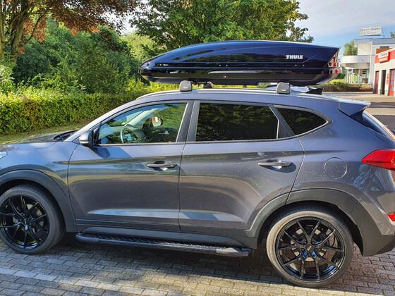 Neue Thule Dachbox Trip XL