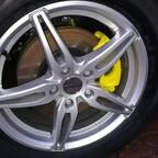 Bremssattel lackiert